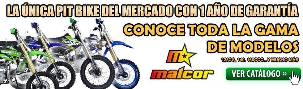 CONOCE LA GAMA DE PIT BIKES MALCOR!!!