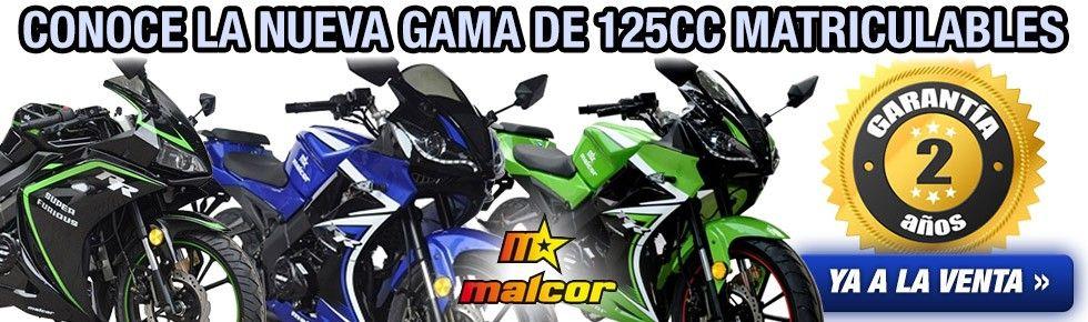 NUEVAS MALCOR 125CC MATRICULABLES