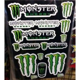 Kit pegatinas Monster