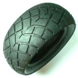 Neumático trasero rayado (mayor calidad) 110/50-6.5