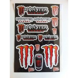 Kit pegatinas Monster Naranja