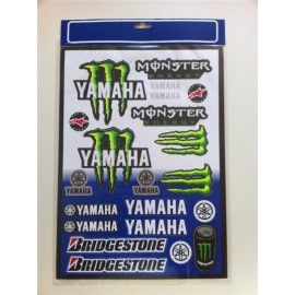Kit pegatinas Monster Yamaha