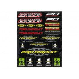 Pliego de adhesivos Pro Circuit