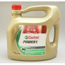 ACEITE CASTROL POWER 1 (10W40) 4T 4L