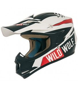 CASCO SHIRO JUNIOR MX-306 WILD WOLF