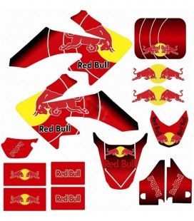 Adhesivos red bull crf50/70