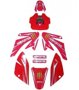 Monster energy crf rojo