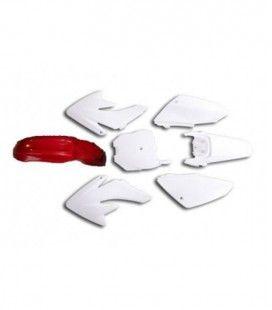 Plásticos crf70 guardabarros rojo