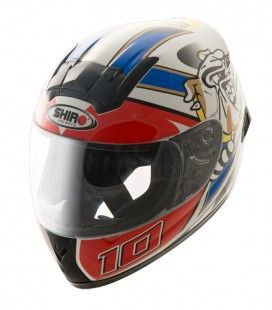 CASCO SHIRO JUNIOR SH-829 LUCA (BULLDOG)