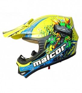 CASCO SHIRO JUNIOR CROSS PISTON KIDS