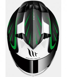 MT BLADE SV ALPHA GLOSS BLACK/WHITE/FLUOR GREEN