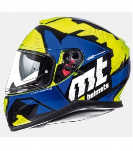 MT THUNDER 3 SV TORN GLOSS FLUOR YELLOW/BLUE XS