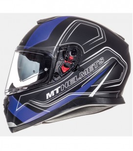 MT THUNDER 3 SV TRACE MATT BLACK/BLUE