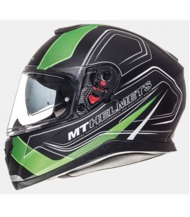 MT THUNDER 3 SV TRACE MATT BLACK/FLUOR GREEN
