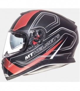 MT THUNDER 3 SV TRACE MATT BLACKRED