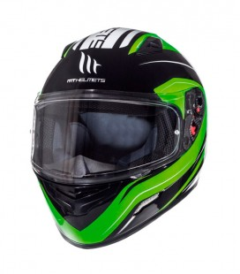 MT MUGELLO MAKER GLOSS BLACKFLUOR GREEN XS