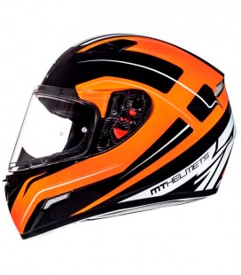 MT MUGELLO MAKER GLOSS BLACK/FLUOR ORANGE