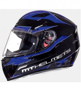 MT MUGELLO VAPOR GLOSS BLACK/BLUE XS