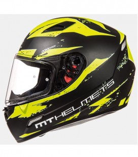 MT MUGELLO VAPOR MATT BLACK/FLUOR YELLOW