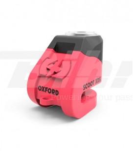 Candado de disco Oxford rosa XD5 LK263