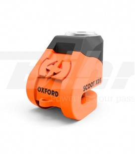 Candado de disco Oxford naranja XD5 LK261