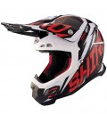 CASCO SHIRO MX-917 THUNDER KIDS ROJO