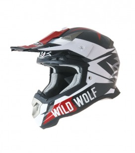 CASCO SHIRO CROSS MX-917 WILD WOLF