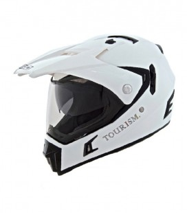 CASCO SHIRO CROSS MX-311 TOURISM BLANCO