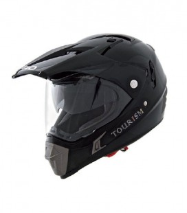 CASCO SHIRO CROSS MX-311 TOURISM NEGRO