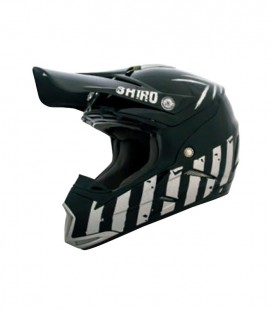 CASCO SHIRO CROSS MX-305 SCORPION NEGRO