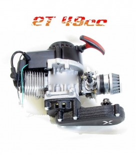 Motor 49cc reductora larga