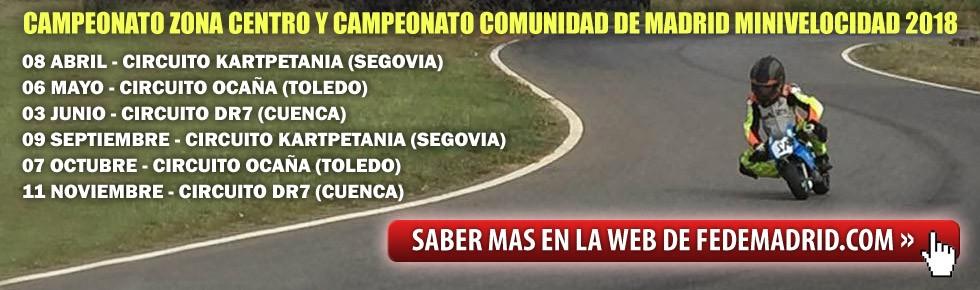 CAMPEONATO MINIVELOCIDAD Trofeo Comunidad de Madrid